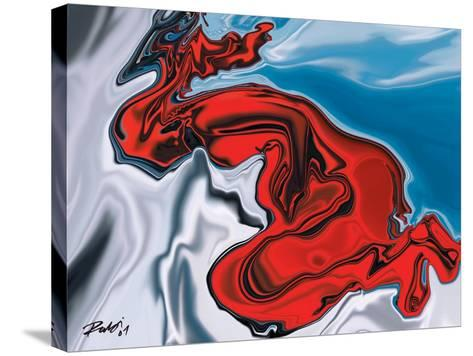 Touch Life-Rabi Khan-Stretched Canvas Print