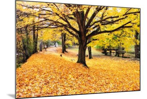Halloween Outdoor Scenic-George Oze-Mounted Photographic Print