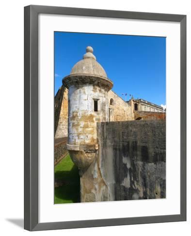 Sentry Post, San Cristobal Fort, San Juan-George Oze-Framed Art Print