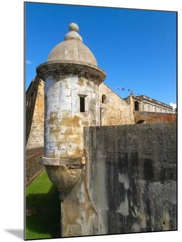 Sentry Post, San Cristobal Fort, San Juan-George Oze-Mounted Photographic Print