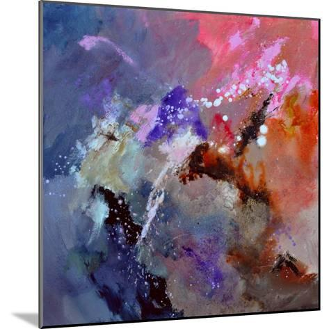 Abstract 6601012-Pol Ledent-Mounted Art Print