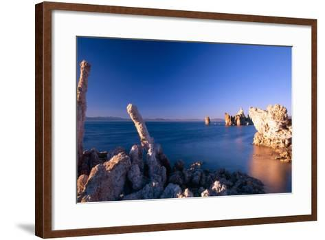 Mono Lake Tufa Towers, California-George Oze-Framed Art Print