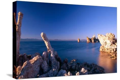 Mono Lake Tufa Towers, California-George Oze-Stretched Canvas Print