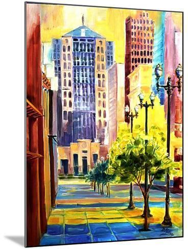 Dawn in Chicago-Diane Millsap-Mounted Art Print