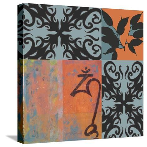 Om-Jan Weiss-Stretched Canvas Print