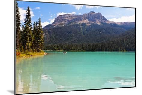 Summer Day at Emerald Lake, Canada-George Oze-Mounted Photographic Print