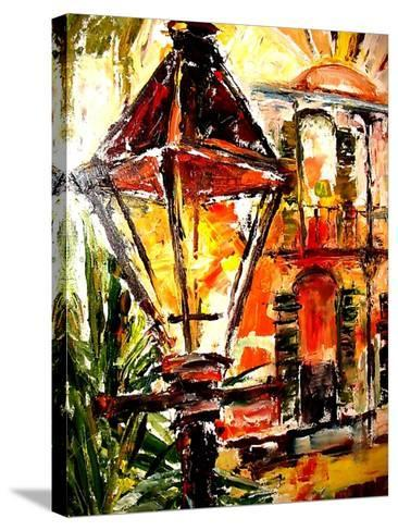 Light up the French Quarter!-Diane Millsap-Stretched Canvas Print