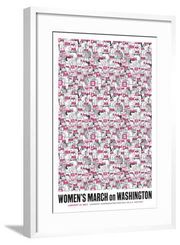 Women's March-Melinda Beck-Framed Art Print