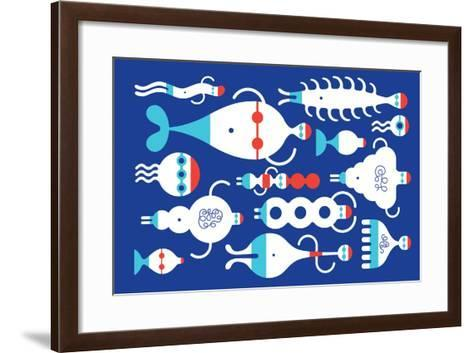 Backstroke-Melinda Beck-Framed Art Print
