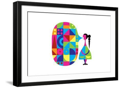 Girl Talk-Melinda Beck-Framed Art Print
