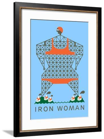 Iron Woman-Melinda Beck-Framed Art Print