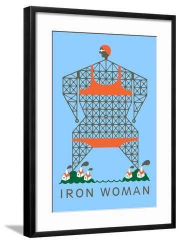 Iron Woman-Melinda Beck-Framed Art Print