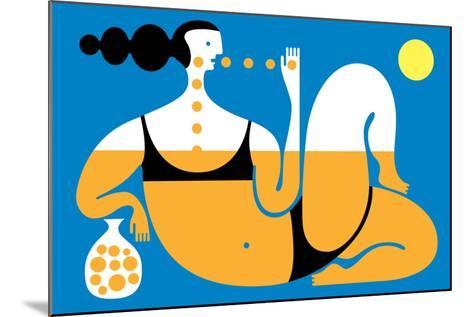 Sunbather-Melinda Beck-Mounted Art Print