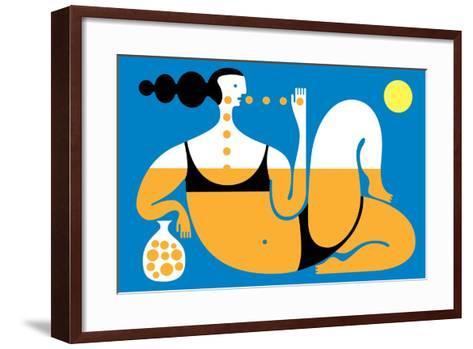 Sunbather-Melinda Beck-Framed Art Print