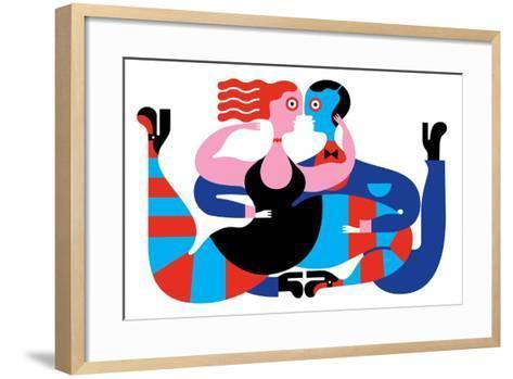 Tango-Melinda Beck-Framed Art Print