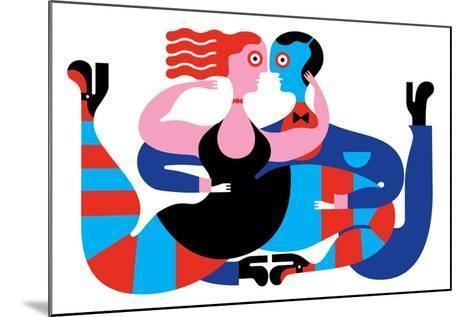 Tango-Melinda Beck-Mounted Art Print