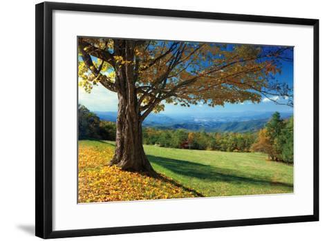 Blue Ridge Beauty-Mike Jones-Framed Art Print