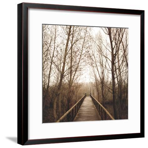 Right Here-Jorge Llovet-Framed Art Print