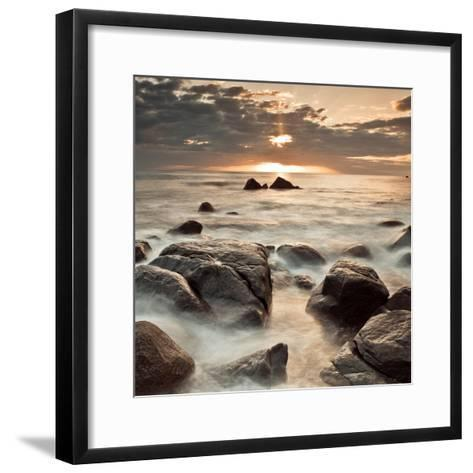 Midnight Sunrise-Assaf Frank-Framed Art Print
