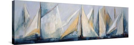 First Sail II-Mar?a Antonia Torres-Stretched Canvas Print