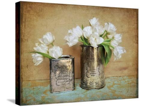 Vintage Tulips I-Cristin Atria-Stretched Canvas Print