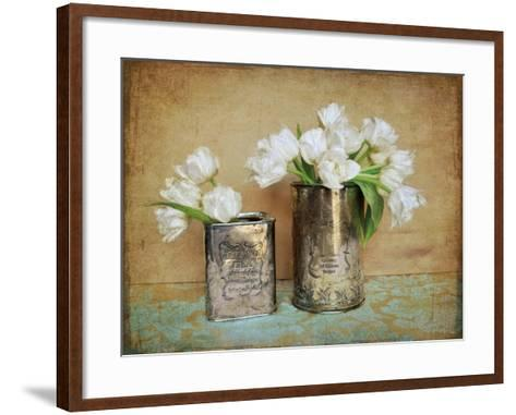 Vintage Tulips I-Cristin Atria-Framed Art Print