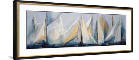 First Sail II-Mar?a Antonia Torres-Framed Art Print