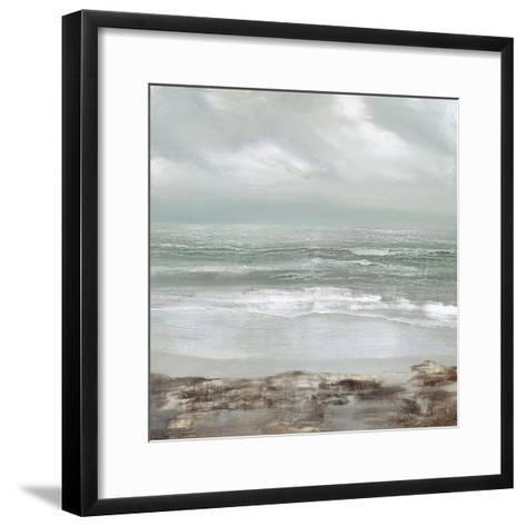 Grey Dawn-Gold Caroline-Framed Art Print