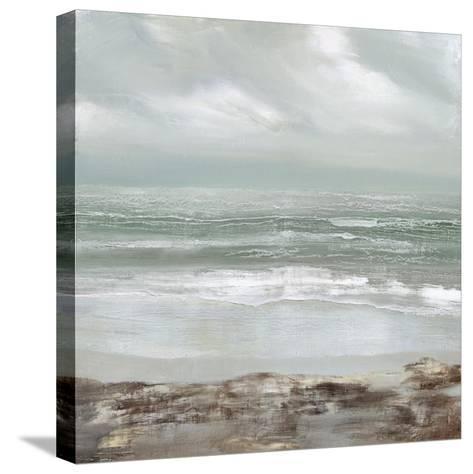 Grey Dawn-Gold Caroline-Stretched Canvas Print