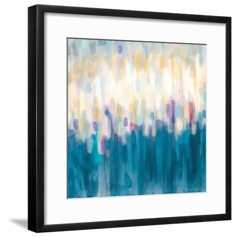 Drops of Indigo-Karen Lorena Parker-Framed Art Print