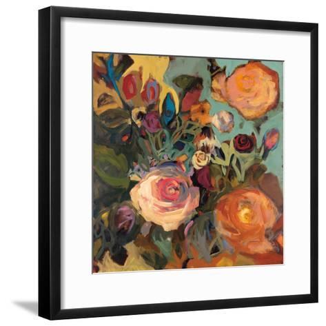 Rose Garden II-Jennifer Harwood-Framed Art Print