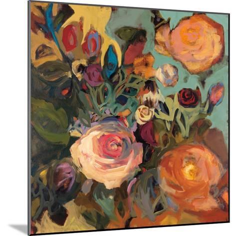 Rose Garden II-Jennifer Harwood-Mounted Art Print