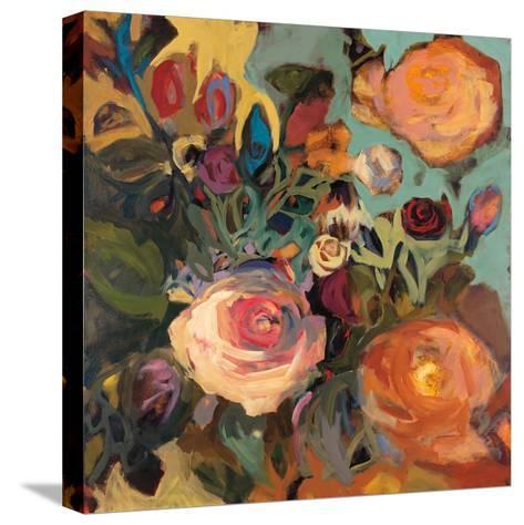 Rose Garden II-Jennifer Harwood-Stretched Canvas Print