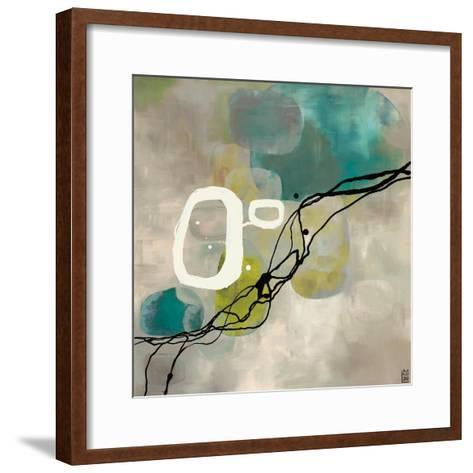 Pearl Retro-Laurie Maitland-Framed Art Print