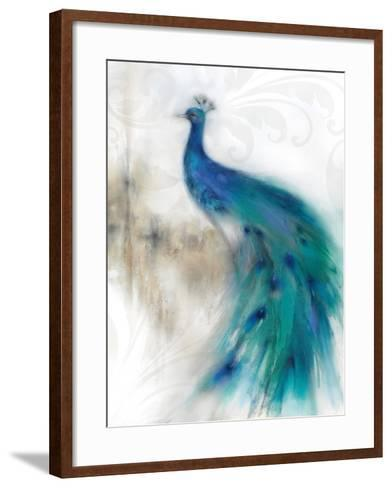 Jewel Plumes II-J^P^ Prior-Framed Art Print