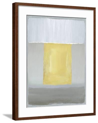 Half Light II-Caroline Gold-Framed Art Print