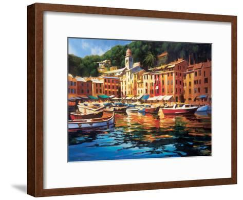 Portofino Colors-Michael O'Toole-Framed Art Print