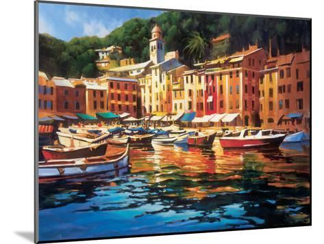 Portofino Colors-Michael O'Toole-Mounted Art Print