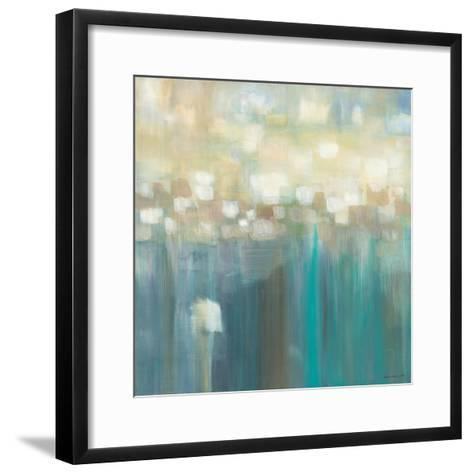 Aqua Light-Karen Lorena Parker-Framed Art Print