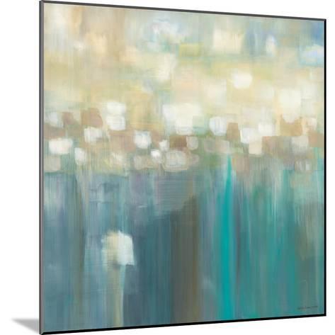 Aqua Light-Karen Lorena Parker-Mounted Art Print