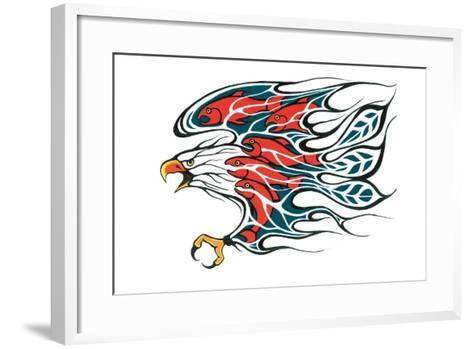 Salmon Run-Fletcher Shelly-Framed Art Print