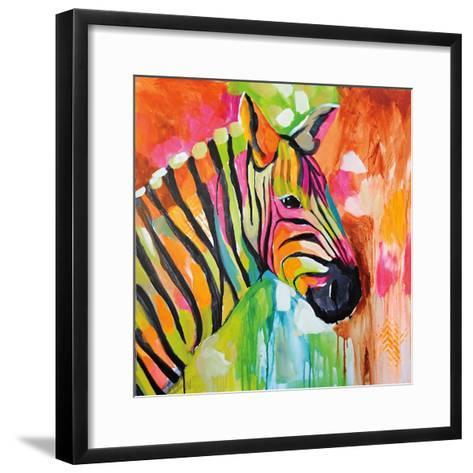 Za Za-Amanda J^ Brooks-Framed Art Print