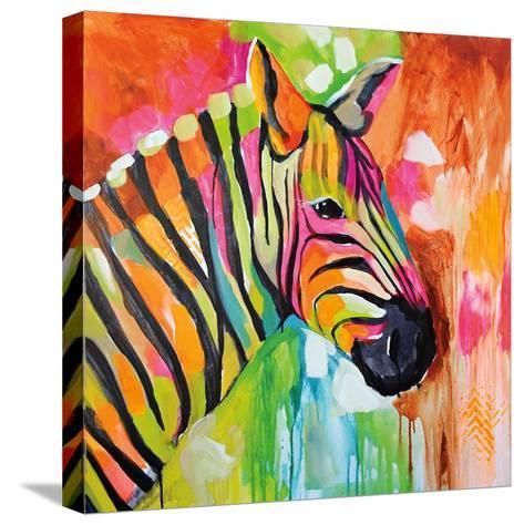 Za Za-Amanda J^ Brooks-Stretched Canvas Print