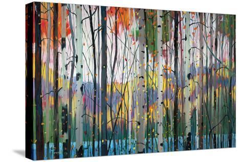Lone Ranger-Graham Forsythe-Stretched Canvas Print