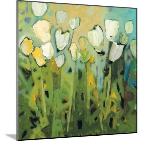 White Tulips I-Jennifer Harwood-Mounted Art Print