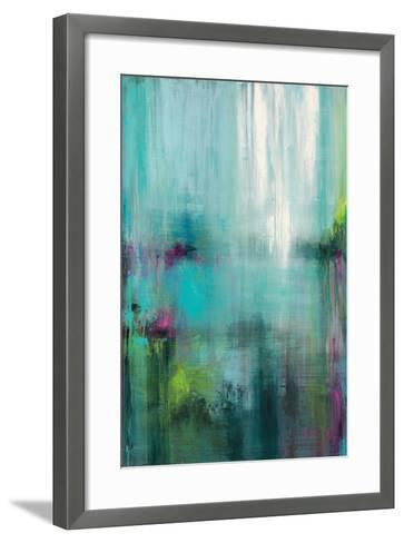 Lily Reflections-Wani Pasion-Framed Art Print
