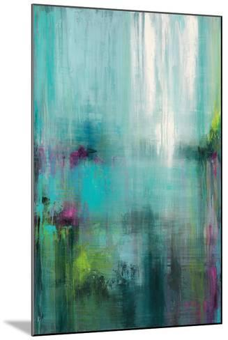 Lily Reflections-Wani Pasion-Mounted Art Print