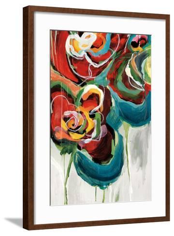 Wasabi Rose II-Angela Maritz-Framed Art Print