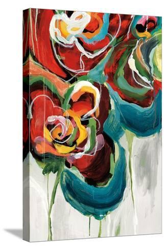 Wasabi Rose II-Angela Maritz-Stretched Canvas Print