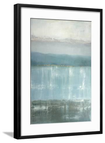 Twilight Blues-Gold Caroline-Framed Art Print